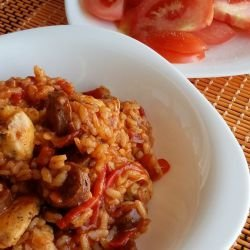 Jambalaya with Chicken and Chorizo