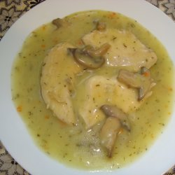 Chicken Fillet with Mushroom Sauce