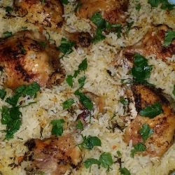 Exquisite Chicken with Rice and Spices