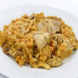 Risotto with Chicken and Red Wine
