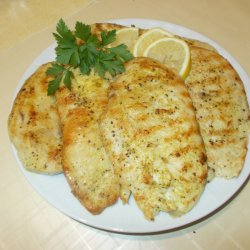 Chicken Steaks in a Grill Pan