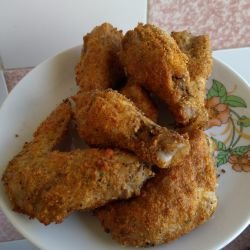 Chicken Wings in the Oven with Tasty Crust