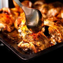 Marinated Chicken with Wine and Olives