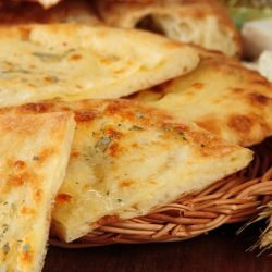 Quick Flatbread with Ready-Made Dough