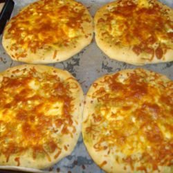 Pitas with Cheese and Feta