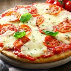 Easy Pizza Margherita