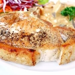 Pork Chops with Mushroom Sauce