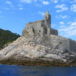 Carolingian Chapel - San Pietro Church in Portovenere