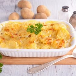 Gratin with Feta and Potatoes