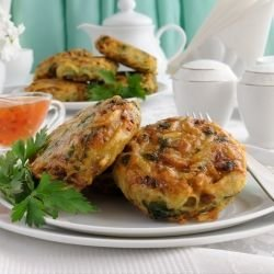 Spinach and Potato Patties
