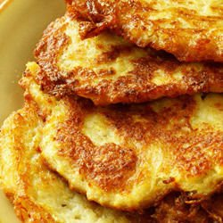 Potato Pancakes with Cheese