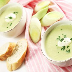Cream Soup with Leeks