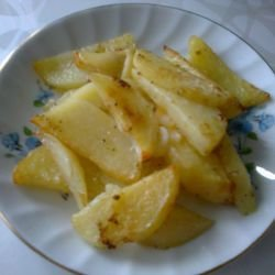 Fresh Potatoes with Butter in the Oven