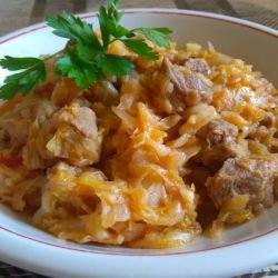 Aromatic Cabbage with Pork