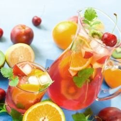 Summer fruit drink