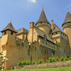 Castles in France -  Puymartin Castle