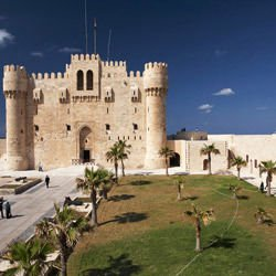 Castles - The Citadel of Qaitbey - Fort Qaitbey