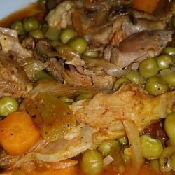 Pork with Peas Stew