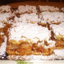 Retro Cake Apple Squares