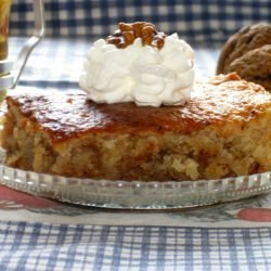 Syrup Cake with Walnuts
