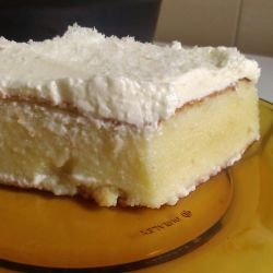 Syrup Cake with Sour Cream