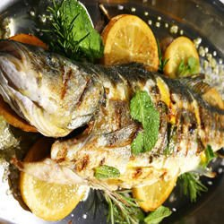 Stuffed Mackerel with Lemon in the Oven