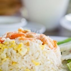 Rice with Shrimp and Peppers