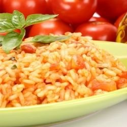 Lean Rice with Tomatoes