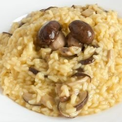 Risotto with Processed Cheese