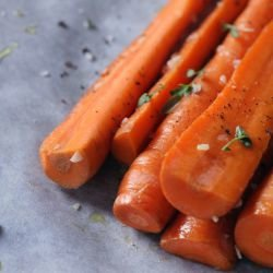 Roasted Carrots with Cumin