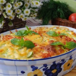 Zucchini and Potato Moussaka