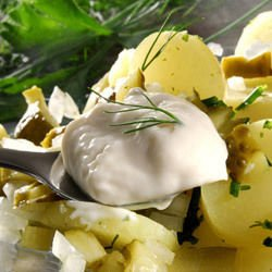Potatoes with Mayonnaise