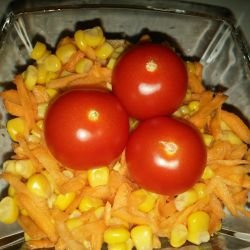 Corn and Carrot Salad