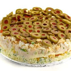 Salty Cake with Olives