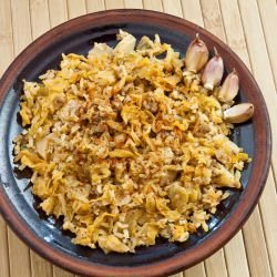 Sauerkraut with Bulgur