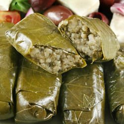 Meatless Stuffed Vine Leaves