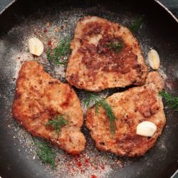 Pan-Fried Pork Tenderloin