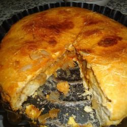 Country-Style Onion Pie