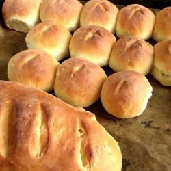 Grandma`s Country-Style Buns