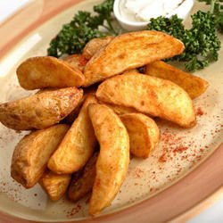Crispy Potatoes with Spices