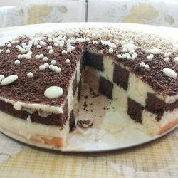 The Perfect Checkerboard Cake