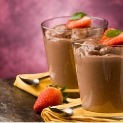 Chocolate Dessert with Rum
