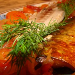 The Tastiest Mackerel in the Oven
