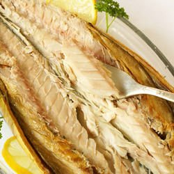 Mackerel with Leeks