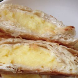 Serbian Sweet Phyllo Pastry with Cream
