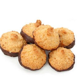 Coconut Cookies with Chocolate