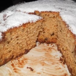 Cake with Coconut Flakes