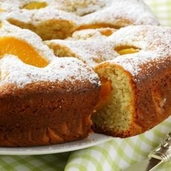 Cake with Nectarines