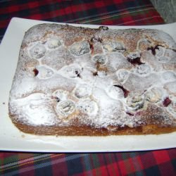 Quick Cake with Prunes