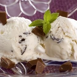 Homemade Stracciatella Ice Cream